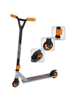 AKTION BLACK AND GREY 100M WHEELS PARK SCOOTER
