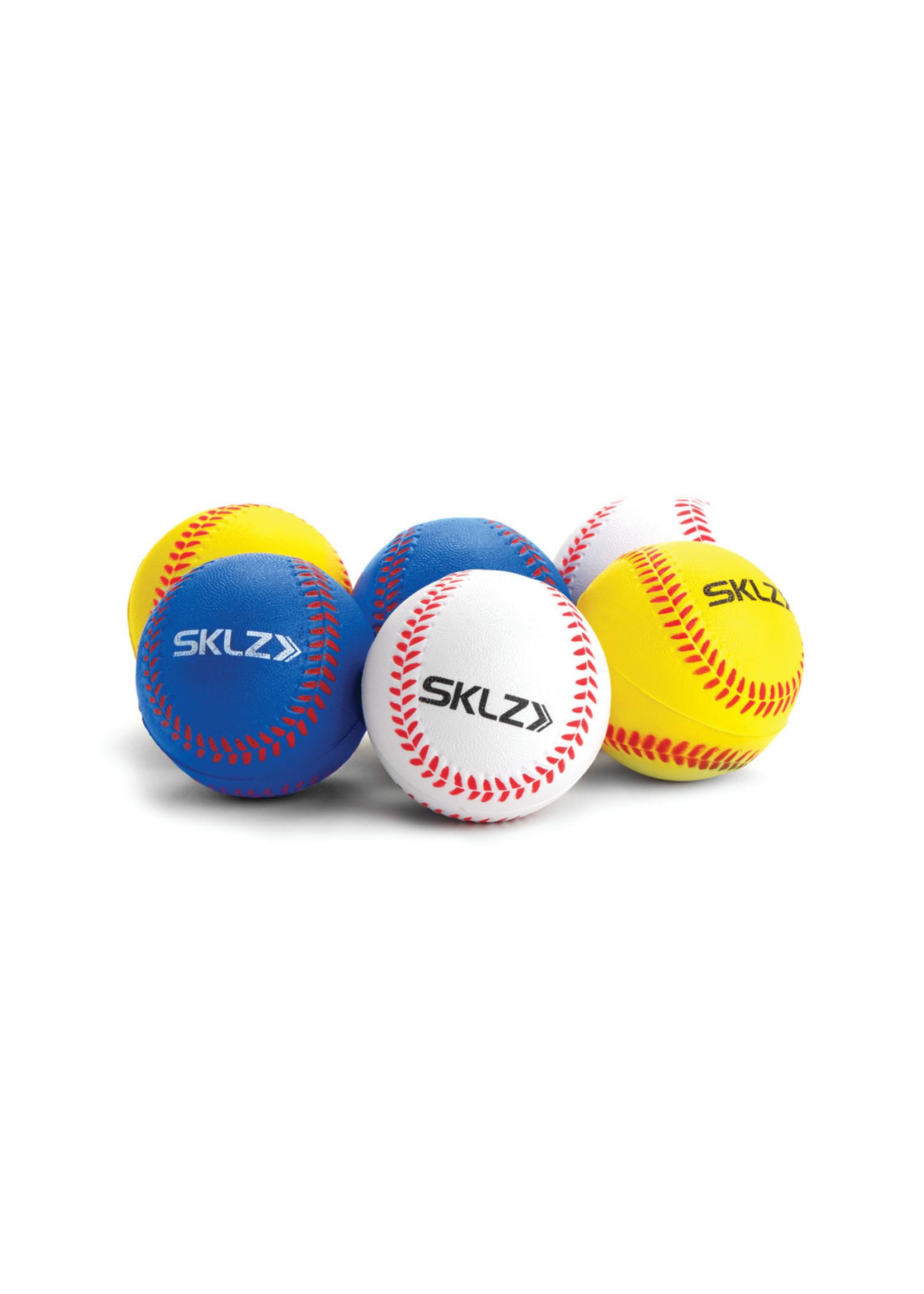 SKLZ 6-PACK FOAM TRAINING BALLS