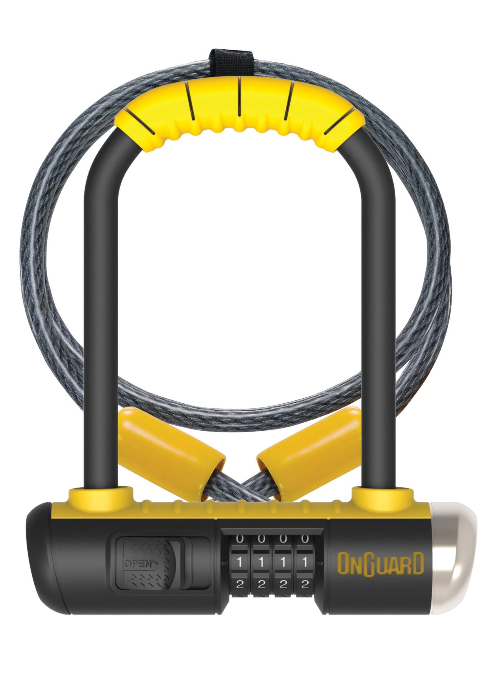 Onguard ONGUARD COMBO DT 8012C U-LOCK 10MM X 120 CM CADENAS