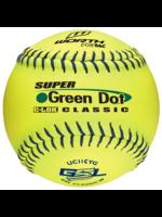 "Rawlings WORTH GREEN DOT 11"" BOX OF 12 SOTFBALL"