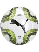 Puma SOCCER BALL PUMA FINAL 6 MS TRAINER WHITE-LEMON-BLACK