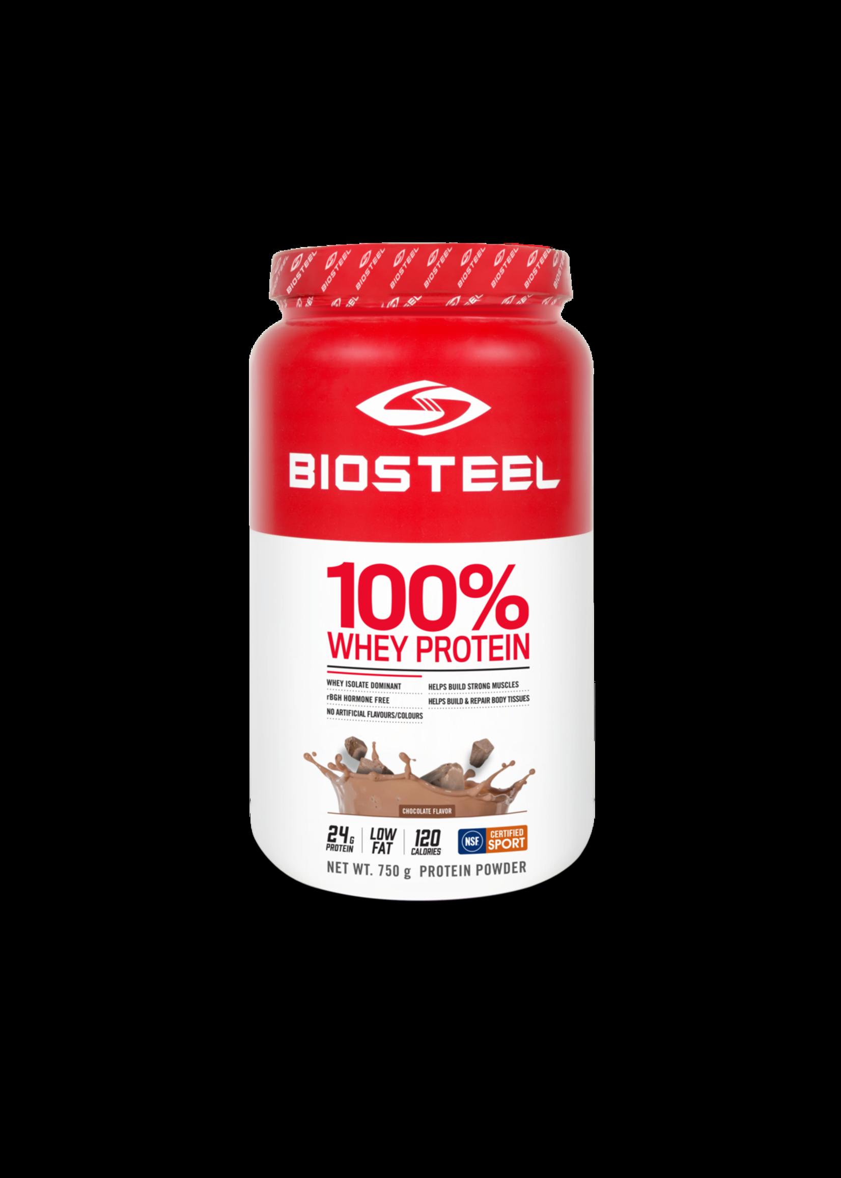 BIOSTEEL CHOCOLATE 750G 100% WHEY PROTEIN