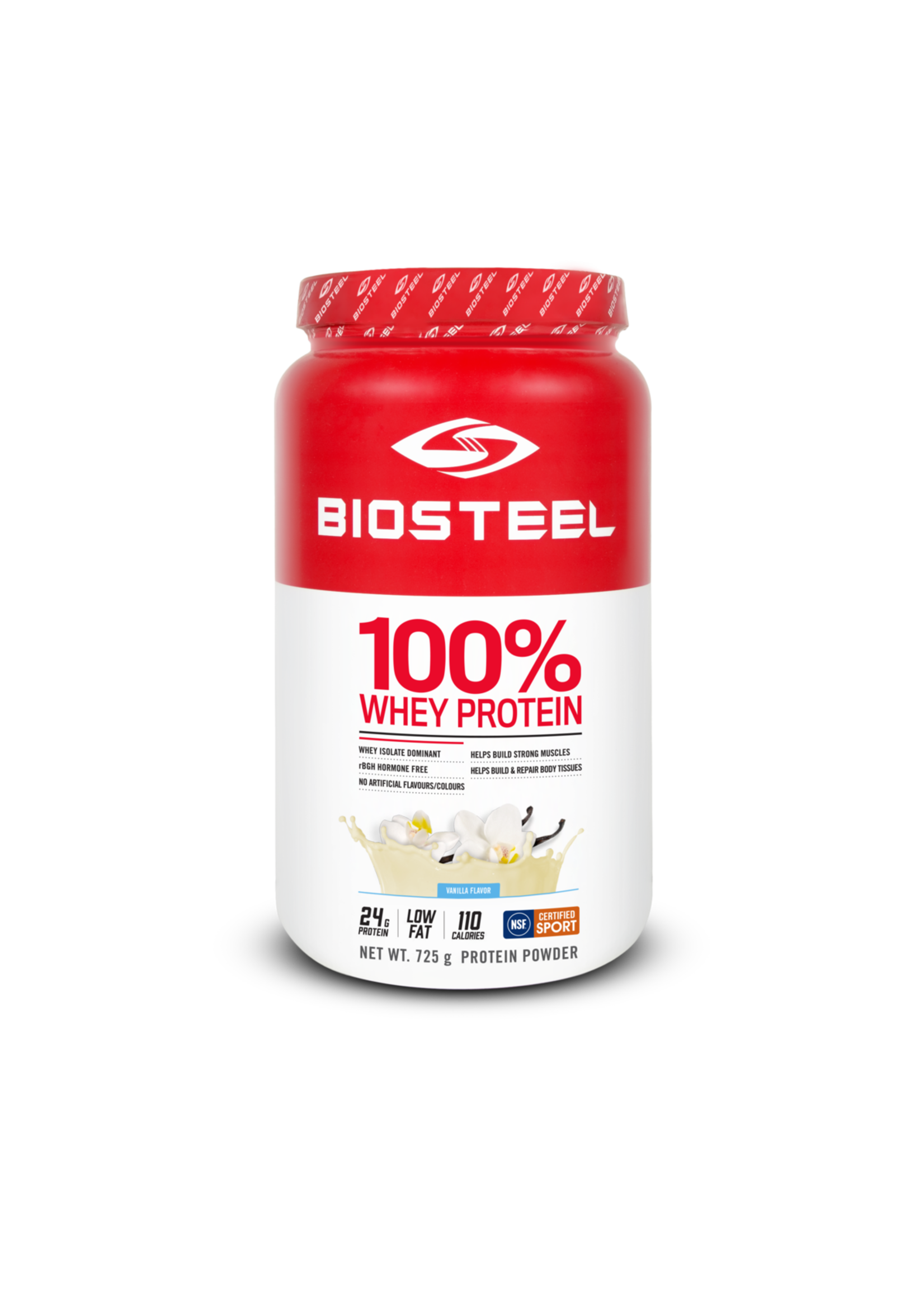BIOSTEEL VANILLA 725G 100% WHEY PROTEIN
