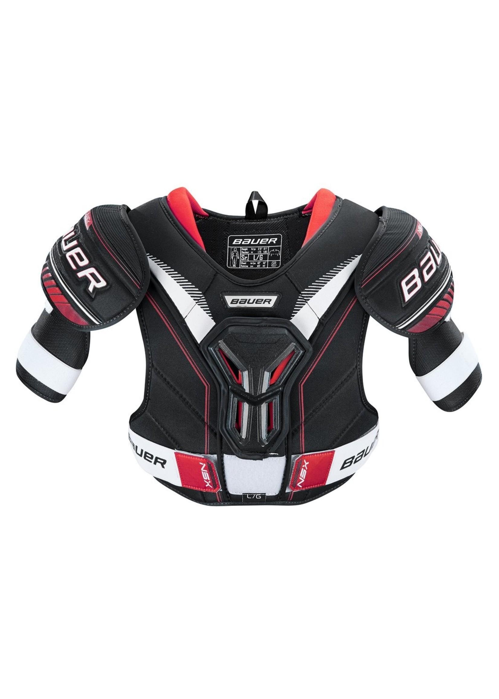 Bauer Hockey BAUER S18 NSX SR SHOULDER PADS