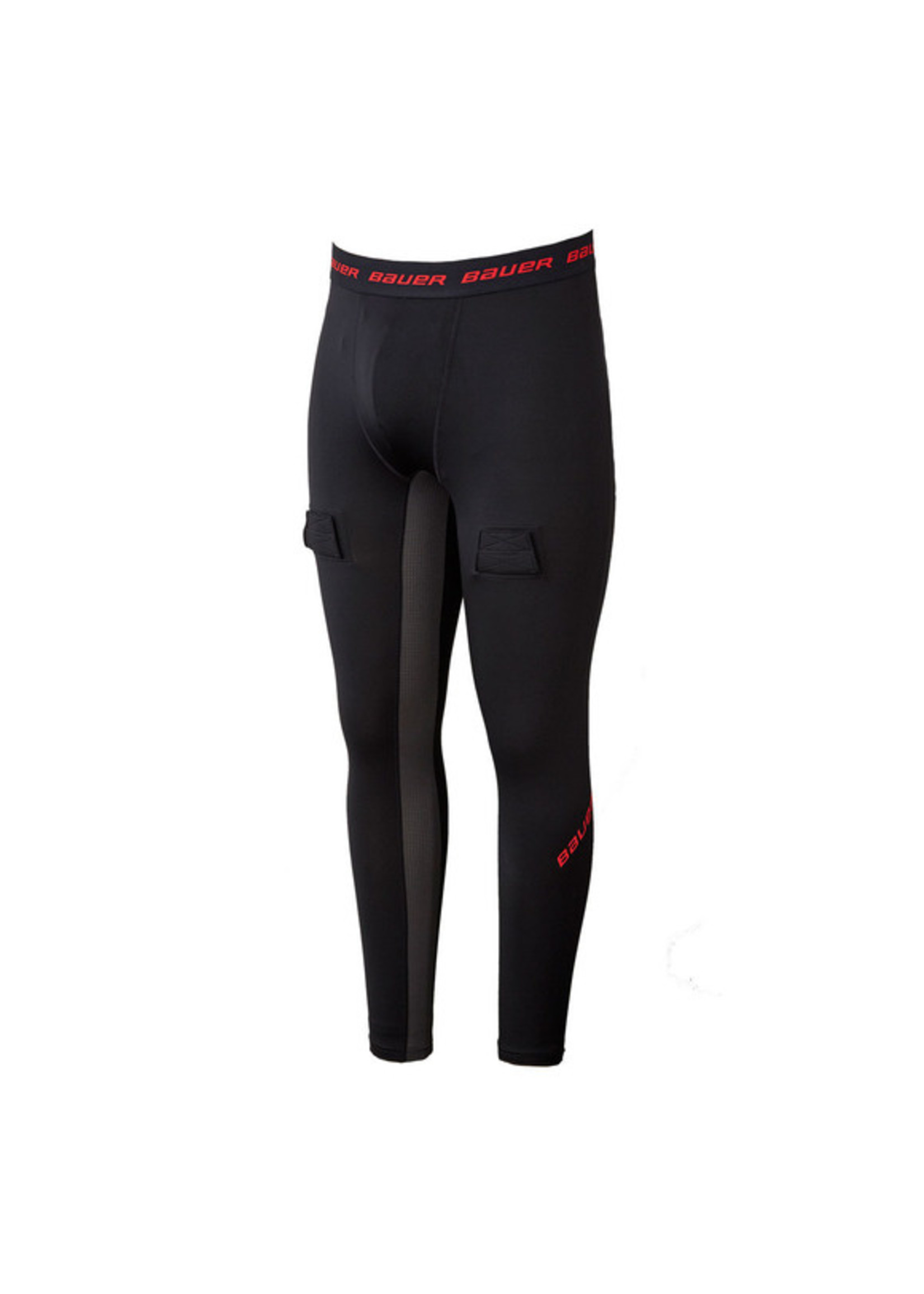 Bauer Hockey BAUER S19 YTH HOCKEY COMPRESSIONS PANTS WITH JOCK