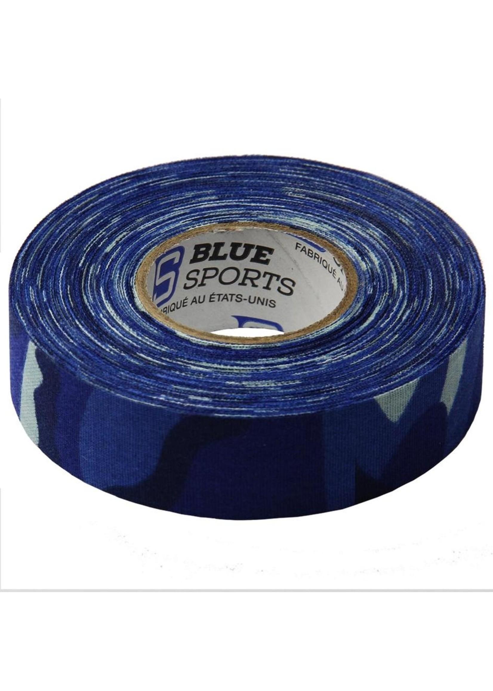 BLUE SPORTS COTTON COULEUR CAMO 24MM X 25M HOCKEY TAPE