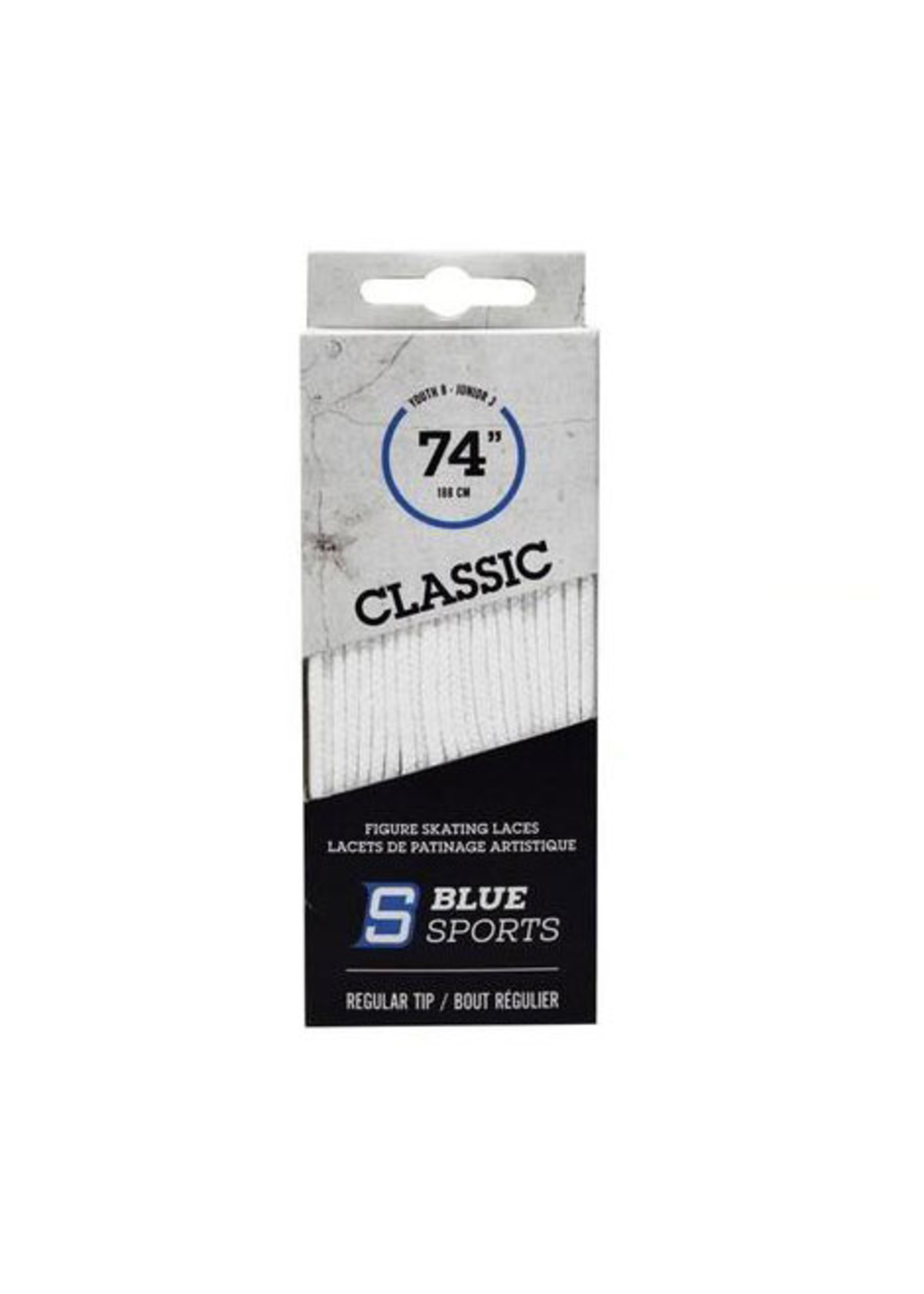 BLUE SPORTS CLASSIC FIGURE SKATING LACES