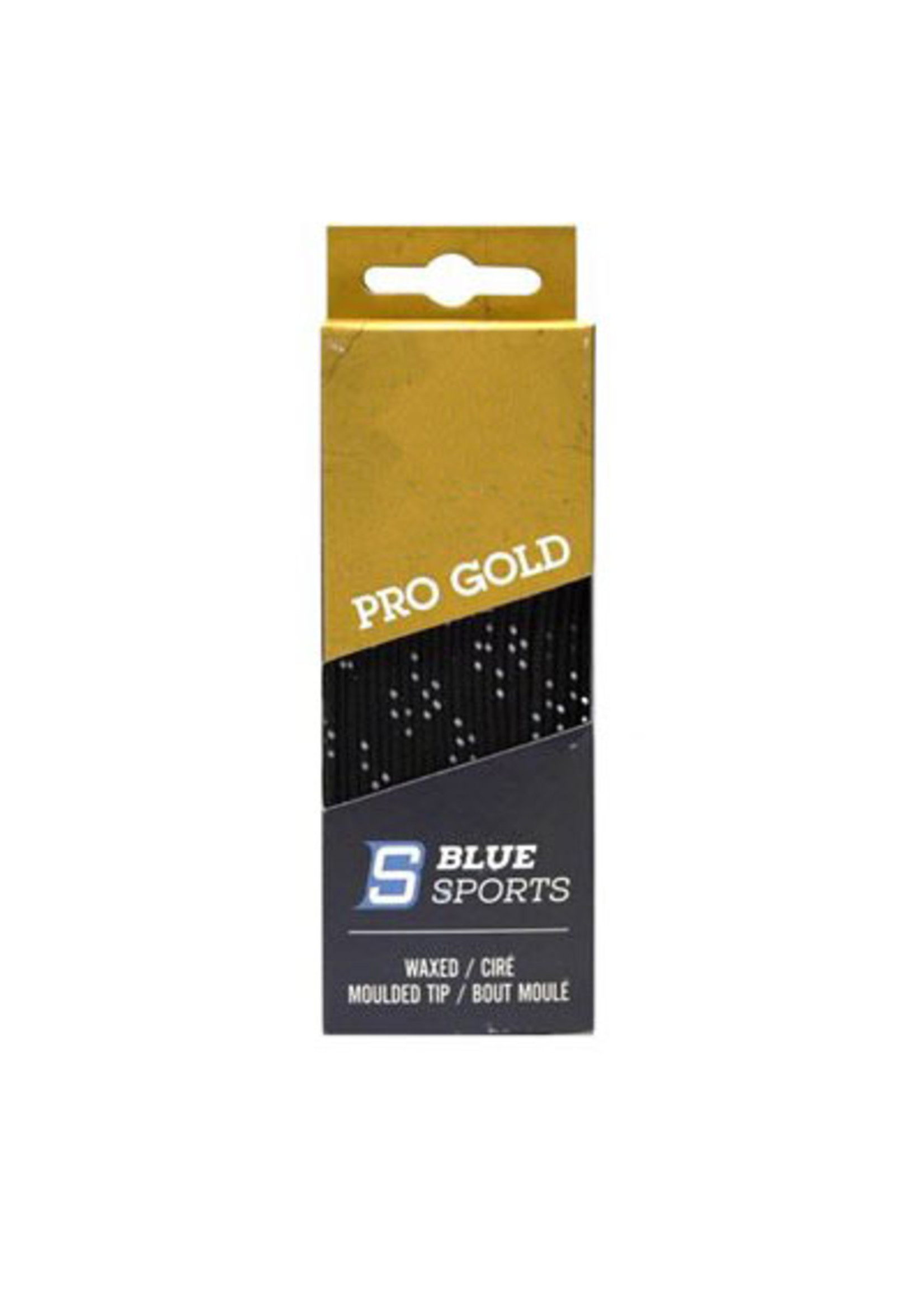 BLUE SPORTS PRO GOLD WAXED LACES