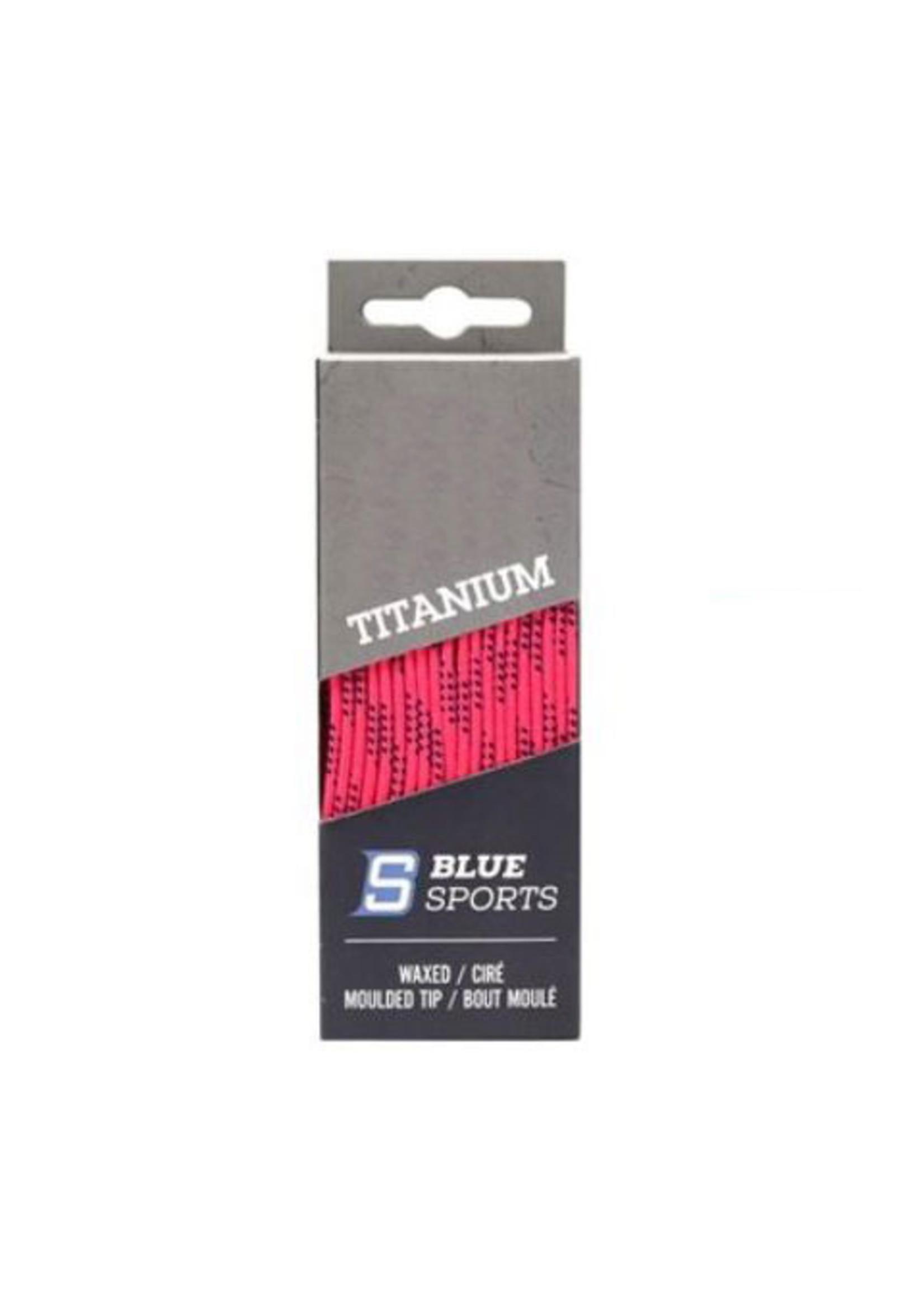 BLUE SPORTS TITANIUM CIRÉ LACETS
