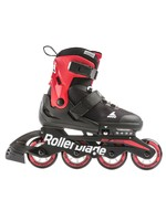 ROLLERBLADE MICROBLADE JR BLACK AND RED