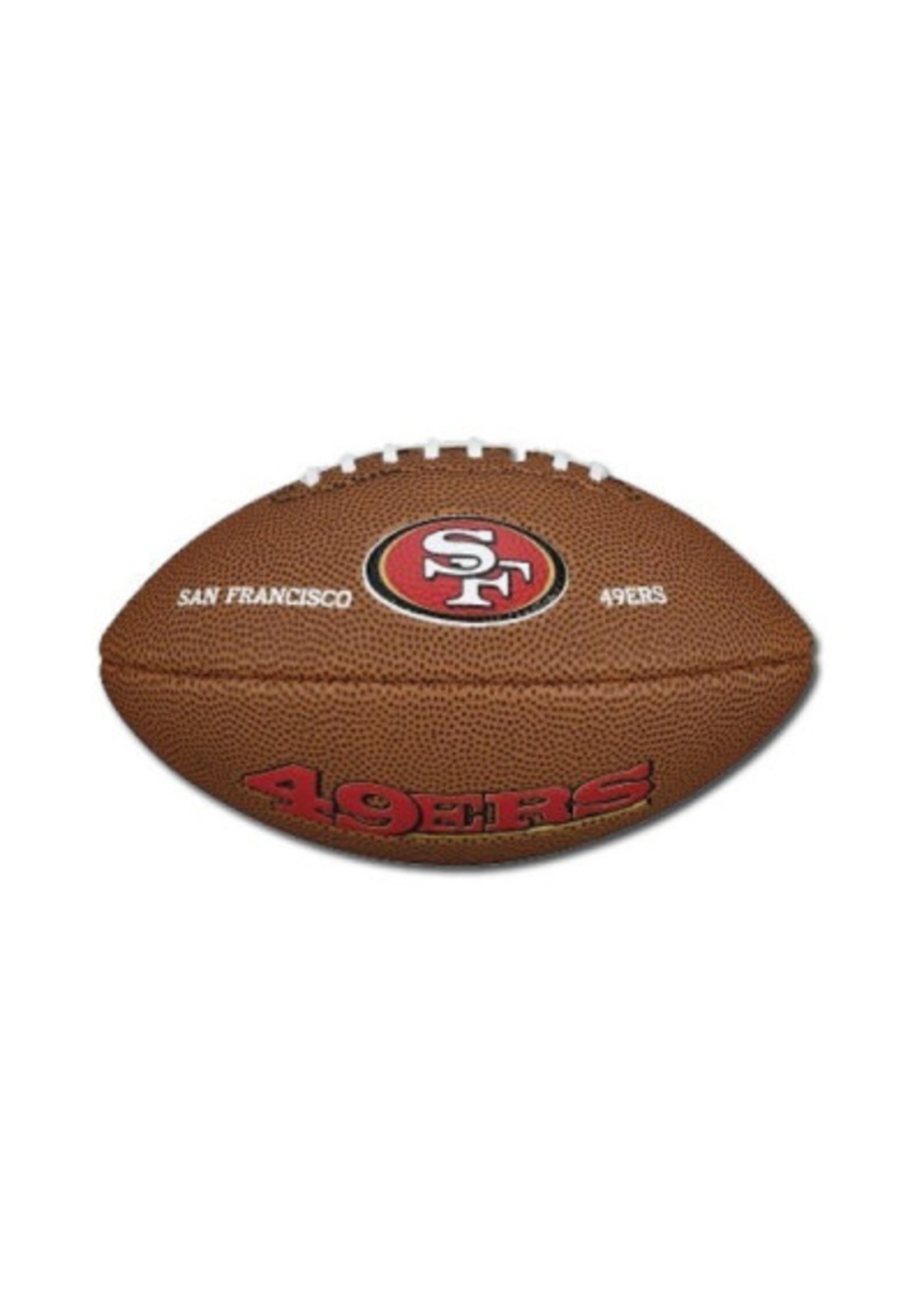 WILSON WILSON BALLON FOOTBALL NFL MINI TEAM LOGO FB SF