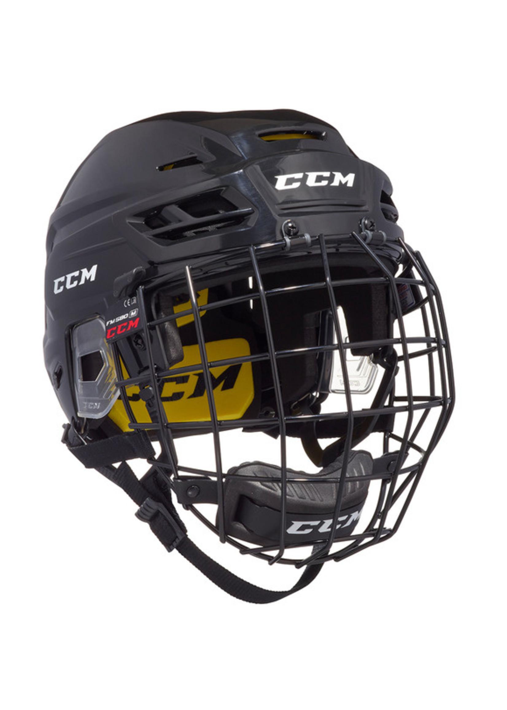 CCM Hockey CCM TACKS 210 COMBO SR HOCKEY HELMET