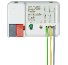 KNX push-button interface, 2-gang-2076-2 T-01