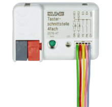 KNX push-button interface, 4-gang-2076-4 T-01