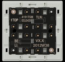 KNX universal push-button module, 1-gang-4191 TSM-01