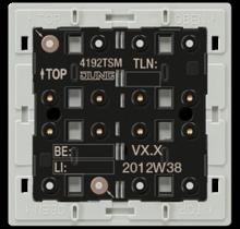 KNX universal push-button module, 2-gang-4192 TSM-01