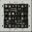 JUNG KNX universal push-button module, 3-gang-4193 TSM-01