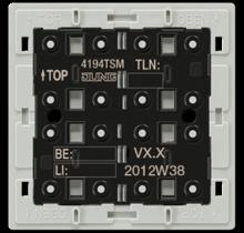 KNX universal push-button module, 4-gang-4194 TSM-01