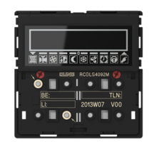 KNX room controller display module 2-gang