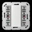 JUNG KNX universal push-button module, 2-gang-A 5092 TSM-01