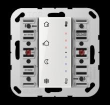 KNX room temperature controller module 2-gang-A 5178 TSM-01