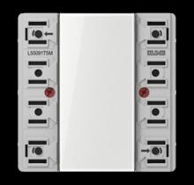KNX universal push-button module, 1-gang-LS 5091 TSM-01