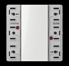 KNX universal push-button module, 3-gang-LS 5093 TSM-01