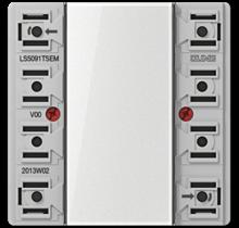 Push-button extension module-LS 5091 TSEM-01