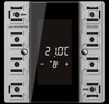 KNX room controller display compact module 2-gang-LS 5192 KRM TS D-01