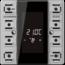 JUNG KNX room controller display compact module 2-gang-LS 5192 KRM TS D-01