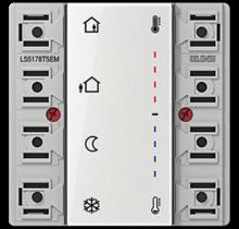 Room controller extension module 2-gang-LS 5178 TSEM-01