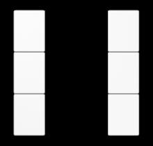 Cover kit 3-gang