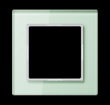 Frame A- Creation glass soft white- AC 581 GL WMT
