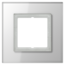 JUNG Frame LS PLUS- Glass frame white