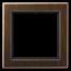 JUNG Frame FLAT DESIGN ANTIQUE BRASS