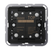 KNX push-button extension 1-gang LS Range-LS CD 10911 TE