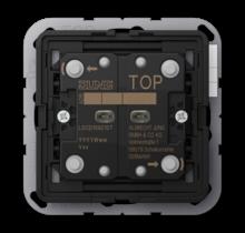 KNX push-button universal 2-gang LS Range-LS CD 10921 ST