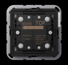KNX push-button extension 2-gang LS Range-LS CD 10921 TE