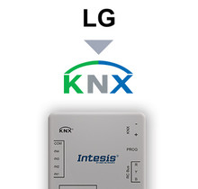 LG VRF systems to KNX Interface with binary inputs