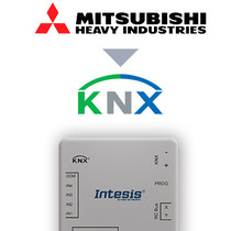 Mitsubishi Heavy Ind. FD and VRF to KNX Interface with Binary Inputs
