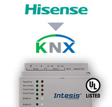 Hisense VRF systems to KNX Interface - 64 units
