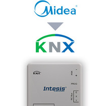 Midea Commercial & VRF systems to KNX Interface - 16 units