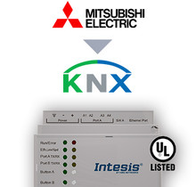 Mitsubishi Electric City Multi systems to KNX Interface - 100 units
