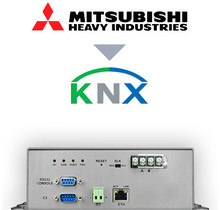 Mitsubishi Heavy Industries VRF systems to KNX Interface - 128 units