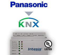 Panasonic ECOi, ECOg and PACi systems to KNX Interface - 16 units