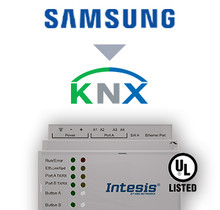 Samsung NASA VRF systems to KNX Interface - 64 units