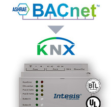 BACnet IP & MS/TP Client to KNX TP Gateway  - 100 Points