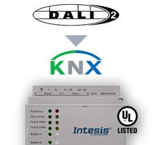 DALI-2 to KNX TP Gateway - 1 channel