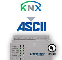 KNX TP to ASCII IP & Serial Server Gateway - 600 points