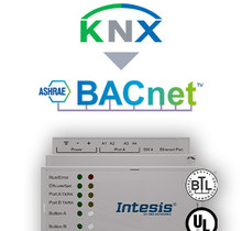 KNX TP to BACnet IP & MS/TP Server Gateway - 100 points